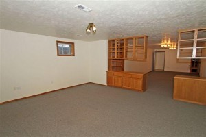 Big Family Room In The Basement